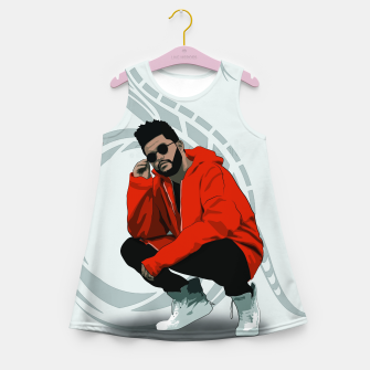 Thumbnail image of TheWeeknd Girl's summer dress, Live Heroes