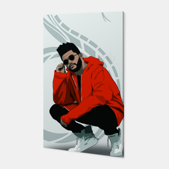 Thumbnail image of TheWeeknd Canvas, Live Heroes