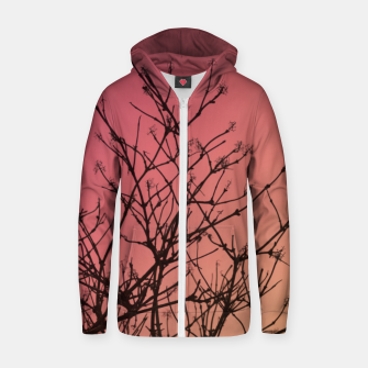 Thumbnail image of Branches Zip up hoodie, Live Heroes