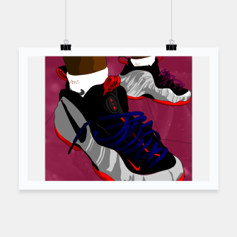 Miniatur NIKES Poster, Live Heroes