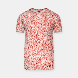 Thumbnail image of Living coral light glitter Sparkles T-shirt, Live Heroes