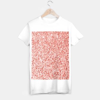 Thumbnail image of Living coral light glitter Sparkles T-shirt regular, Live Heroes