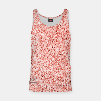 Thumbnail image of Living coral light glitter Sparkles Tank Top, Live Heroes