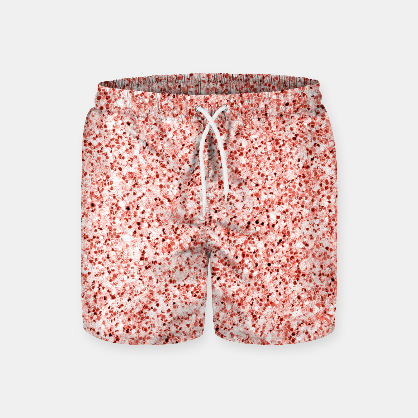 Image of Living coral light glitter Sparkles Swim Shorts - Live Heroes