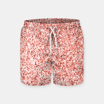 Thumbnail image of Living coral light glitter Sparkles Swim Shorts, Live Heroes