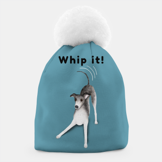 Whip it! (Blue-Grey) Beanie miniature