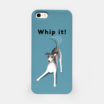 Miniature de image de Whip it! (Blue-Grey) iPhone Case, Live Heroes