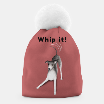 Thumbnail image of Whip it! (Blush Red) Beanie, Live Heroes