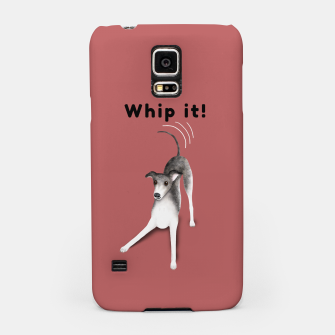 Miniature de image de Whip it! (Blush Red) Samsung Case, Live Heroes