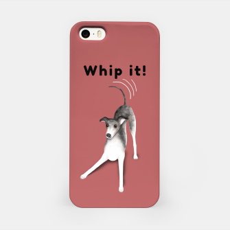 Miniature de image de Whip it! (Blush Red) iPhone Case, Live Heroes