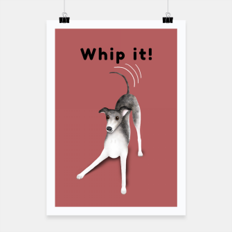 Thumbnail image of Whip it! (Blush Red) Poster, Live Heroes