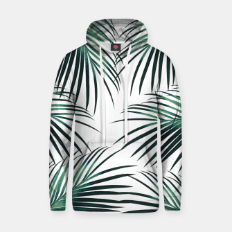Green Palm Leaves Dream #3 #tropical #decor #art  Kapuzenpullover obraz miniatury