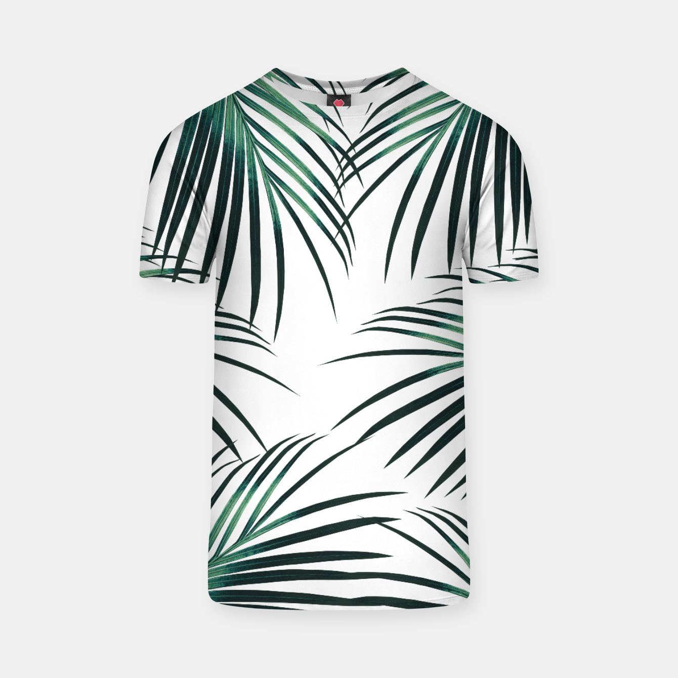 Zdjęcie Green Palm Leaves Dream #3 #tropical #decor #art  T-Shirt - Live Heroes