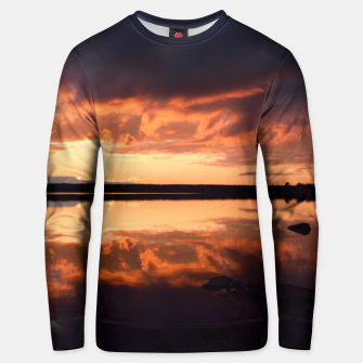 Thumbnail image of Sunset reflections Unisex sweater, Live Heroes