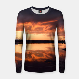Thumbnail image of Sunset reflections Women sweater, Live Heroes