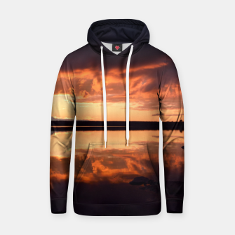 Thumbnail image of Sunset reflections Hoodie, Live Heroes