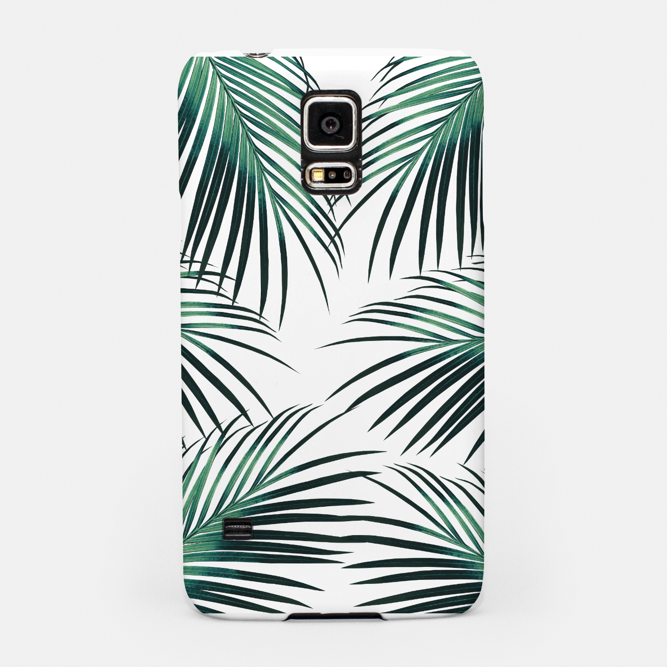 Zdjęcie Green Palm Leaves Dream #3 #tropical #decor #art  Handyhülle für Samsung - Live Heroes