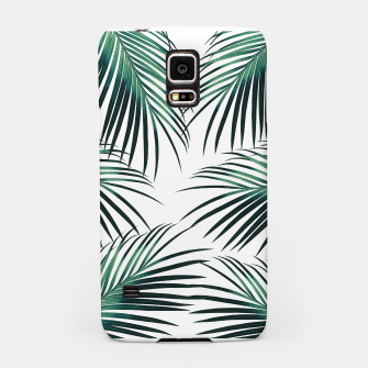 Green Palm Leaves Dream #3 #tropical #decor #art  Handyhülle für Samsung obraz miniatury