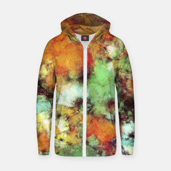 Big cloud collider Zip up hoodie Bild der Miniatur