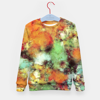 Big cloud collider Kid's sweater Bild der Miniatur