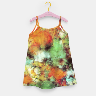 Big cloud collider Girl's dress Bild der Miniatur