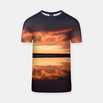 Thumbnail image of Sunset reflections T-shirt, Live Heroes