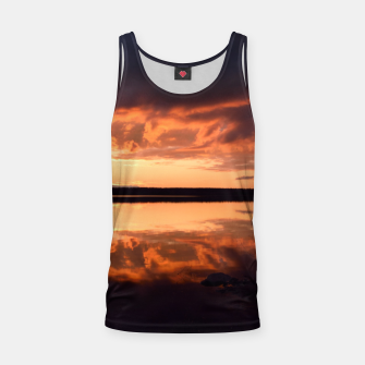 Thumbnail image of Sunset reflections Tank Top, Live Heroes