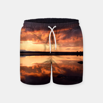 Thumbnail image of Sunset reflections Swim Shorts, Live Heroes