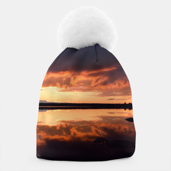 Thumbnail image of Sunset reflections Beanie, Live Heroes