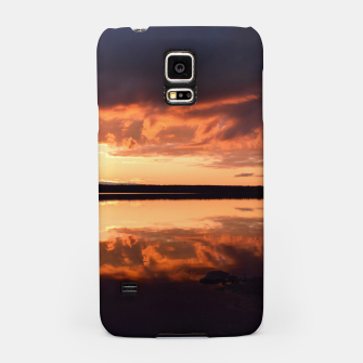 Thumbnail image of Sunset reflections Samsung Case, Live Heroes
