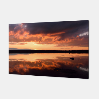 Thumbnail image of Sunset reflections Canvas, Live Heroes