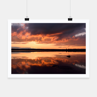 Thumbnail image of Sunset reflections Poster, Live Heroes