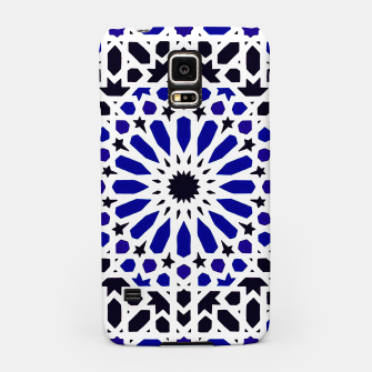 Thumbnail image of Epic Original Blue Moroccan Geometric Artwork. Samsung Case, Live Heroes