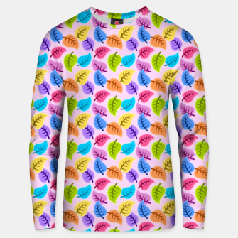 Thumbnail image of Colored Leaves Unisex sweater, Live Heroes