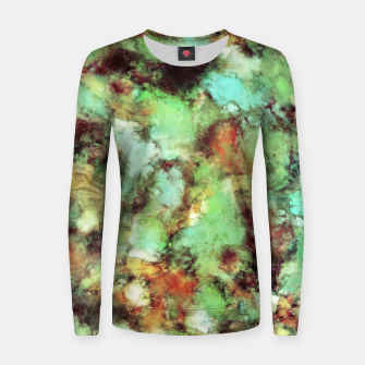Thumbnail image of Garden footsteps Women sweater, Live Heroes