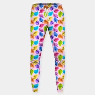 Colored Leaves Sweatpants Bild der Miniatur