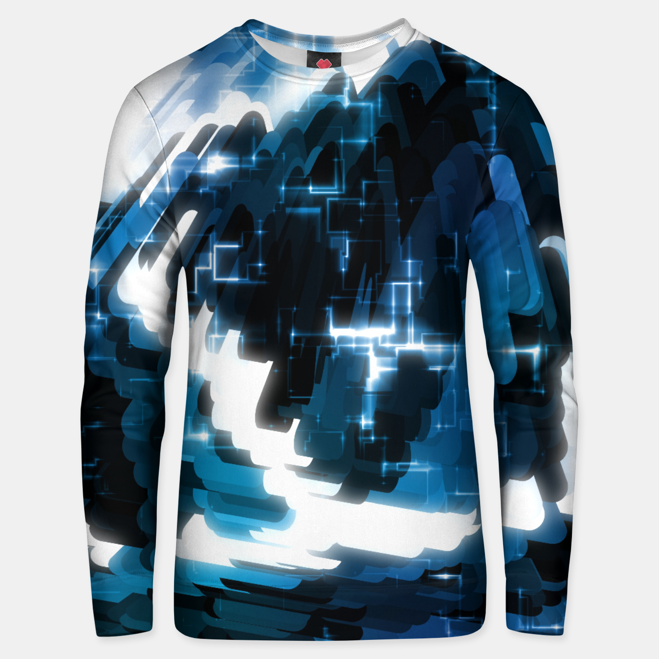 Image of Electric Wave Unisex sweater - Live Heroes