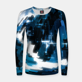 Thumbnail image of Electric Wave Women sweater, Live Heroes
