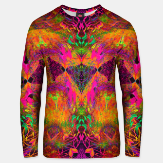 Thumbnail image of The Jester's Mindscape I (symmetry, trippy) Unisex sweater, Live Heroes
