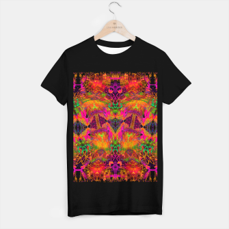 Thumbnail image of The Jester's Mindscape I (symmetry, trippy) T-shirt regular, Live Heroes