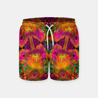 Thumbnail image of The Jester's Mindscape I (symmetry, trippy) Swim Shorts, Live Heroes