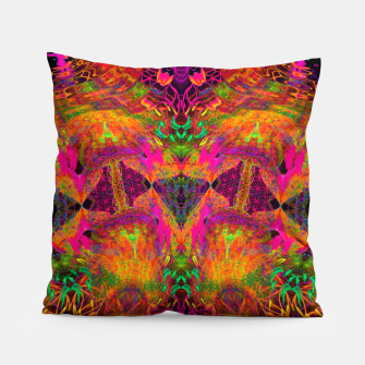 Miniatur The Jester's Mindscape I (symmetry, trippy) Pillow, Live Heroes