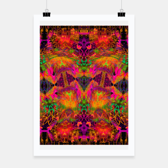Thumbnail image of The Jester's Mindscape I (symmetry, trippy) Poster, Live Heroes