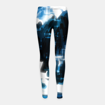 Thumbnail image of Electric Wave Girl's leggings, Live Heroes