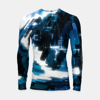Thumbnail image of Electric Wave Longsleeve rashguard , Live Heroes