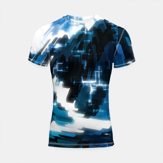 Thumbnail image of Electric Wave Shortsleeve rashguard, Live Heroes