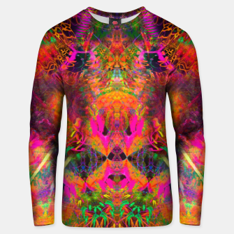 Thumbnail image of The Jester's Mindscape II (abstract, symmetry, visionary) Unisex sweater, Live Heroes