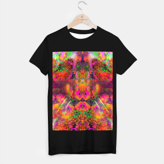 Thumbnail image of The Jester's Mindscape II (abstract, symmetry, visionary) T-shirt regular, Live Heroes