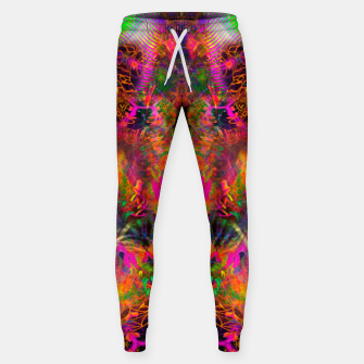 Thumbnail image of The Jester's Mindscape II (abstract, symmetry, visionary) Sweatpants, Live Heroes