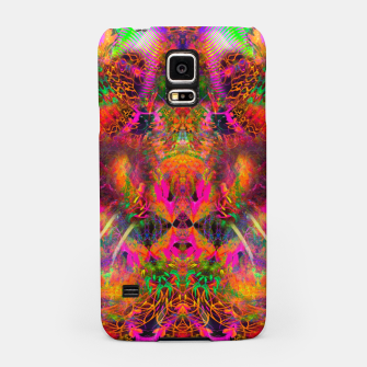 Thumbnail image of The Jester's Mindscape II (abstract, symmetry, visionary) Samsung Case, Live Heroes